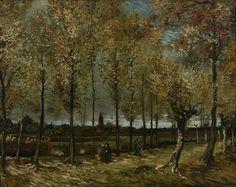 Poplars near Nuenen Vincent van Gogh1885