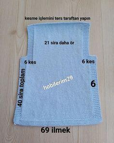 Este posibil ca imaginea să conţină: text Crochet Baby Jacket, Baby Sweater Knitting Pattern, Baby Boy Knitting, Knitting For Kids, Baby Knitting Patterns, Easy Knitting, Baby Vest, Baby Cardigan, Baby Kimono