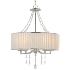 I pinned this Park Avenue Chandelier from the Golden Lighting event at Joss and Main!