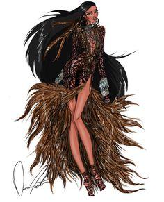 Pocahontas by Daren the Designer. DIY Planner sticker or dashboard ideas. Princess Pocahontas, Disney Pocahontas, Disney Princess Art, Disney Art, Disney Inspired Fashion, Disney Fashion, Disney Divas, Disney Jasmine, Disney Couture