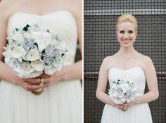 handcrafted paper flower bouquet