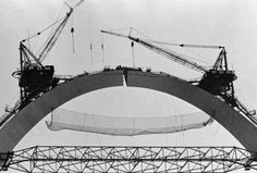 """""""Let us hope that the Arch somehow survives-that it becomes, far in the future, a mysterious structure like the Great Pyramids or Stonehenge, that leads onlookers to wonder about the people who produced it and ask themselves what strange compulsions led to its creation."""" ― Tracy Campbell, The Gateway Arch: A Biography"""