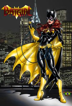 BatGirl_001 by NickLaw-Artes.deviantart.com on @deviantART