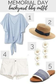 55a92a781771 Memorial Day Outfit Idea  Casual Backyard BBQ Memorial Day Weekend Outfit   SummerStyle Bbq Outfit