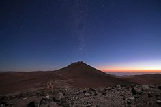 Paranal Observatory is an astronomical observatory located on the mountains of Cerro Paranal in the Atacama desert of northern Chile, at an . Astronomical Observatory, Pictures Of The Week, Sea Level, Dark Night, Pacific Ocean, Milky Way, City Lights, Night Skies, Xmas