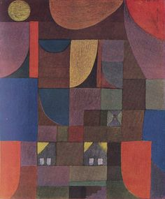 paul klee - cottages for puppets (1922)