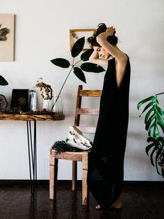 Morph Knitwear Single Point Dress shot by Jon Duenas