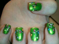 Merry Christmas Nail Art Designs | 2013 Fashion Trends
