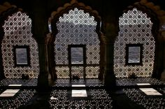 Jali or Jaali - ancient Indian architecture developed in Rajasthan/Gujarat #ancient #India