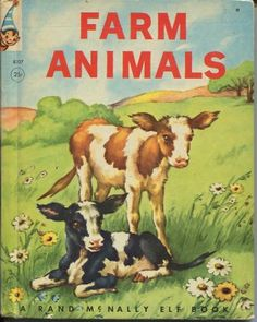 Farm Animals Book.  I loved this book.
