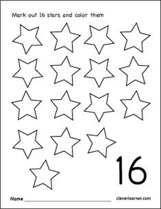 Number 7 tracing and colouring worksheet for kindergarten