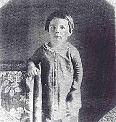 "Eddie, Abe's second son. Died just shy of his fourth birthday in 1850.  Cause of death: ""chronic consumption"""