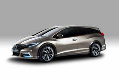 NEWS! Honda Civic Tourer Concept