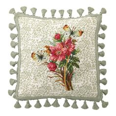 I pinned this Garden Needlepoint Pillow from the Mother's Day Brunch event at Joss and Main!