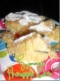 Summer Pineapple Cake