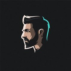 by Contact us if you need an awesome design . Logo Inspiration, Character Illustration, Graphic Design Illustration, Illustration Art, Illustrations, Icon Design, Design Art, Profile Logo, Logo Face