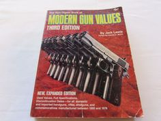 #GunDigest Book of #Modern Gun Values by Lewis (1981, Paperback) Third Edition http://www.ebay.com/itm/Gun-Digest-Book-of-Modern-Gun-Values-by-Lewis-1981-Paperback-Third-Edition-/381388267717?ssPageName=STRK:MESE:IT&utm_content=buffer647fe&utm_medium=social&utm_source=pinterest.com&utm_campaign=buffer #gotvintage