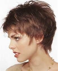 Short hair amateur milf