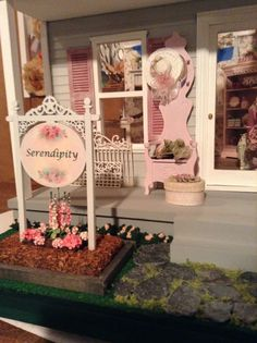 My shabby chic shop exterior. One of my best projects ever. Very proud of it!