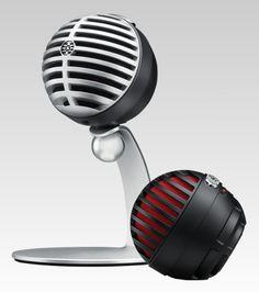 Shure MV5 USB digital condenser mic-iOS, android, Mac/PC, $99