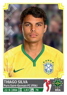 210 Thiago Silva - Brasil - Copa America Chile 2015 - PANINI