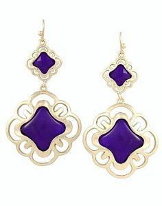 @Kendra Scott Cortland Earrings in Purple