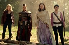 Once upon a time challenge: Day 2 favorite female character I still can't decide these 4 and Regina and belle