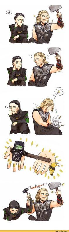 For Asgard.