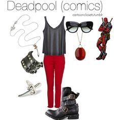 """Deadpool (comics)"" by bforbel on Polyvore"