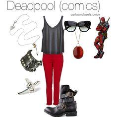 """Deadpool (comics)"" by bforbel on Polyvore"