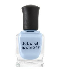 Trendy Nail Polish Colors for Spring 2014 Deborah Lippmann in Blue Orchid - $18 - deborahlippman.com Deborah Lippmann in Blue Orchid There's not a cloud (or streak) in sight with this sky-blue hue. The creamy formula glides on smoothly and looks dreamy on all skin tones.