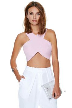 Rosaline Crop Top at Nasty Gal Fashion Over 40, Love Fashion, Passion For Fashion, Fashion Shoes, Estilo Glamour, Womens Fashion For Work, Cute Outfits, Menswear, Street Style