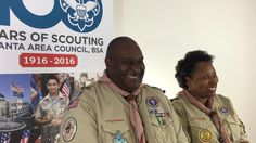 In honor of Valentine's Day, we wanted to share A Scouting Love Story. Apryl and Lester Harris met during an adult leader training. She was a new Scout parent, and he was the course instructor. #AAC100