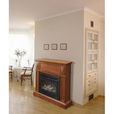Found it at Wayfair - Compact Vent-Free Dual Fuel Gas Fireplace