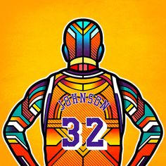 Awesome Artist Portrayal of NBA Legends