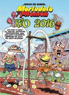 Portada del cómic Mortadelo y Filemón: Río 2016