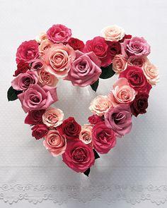 Rose Heart Arrangement