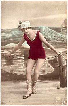 Tracy Roos,Vintage image,1920's bathing belle Vintage images from art-e-zine.co.uk