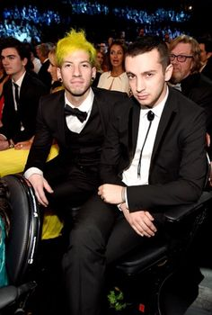 Twenty one pilots at the Grammys  -/