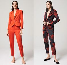 Escada 2016 Resort Cruise Pre-Spring Womens Lookbook Presentation - Denim Jeans Blouse Scarf Wide Leg Trousers Palazzo Pants Outerwear Coat Blazer Knit Weave Fringes Ornamental Print Decorative Art Silk Wrap Waistcoat Angular Hem Flowers Florals Roses Ruffles Lace Dress Gown Embroidery Embellishments