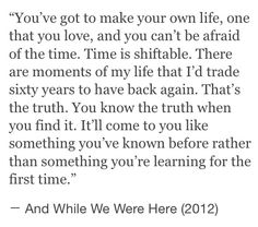 And while we were here quote