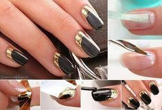How to make beautiful nail art step by step DIY instructions H