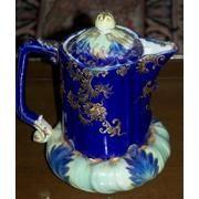 1820 hand painted German teapot