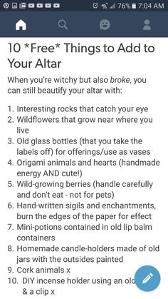 10 Free Things To Add To Your Altar Wiccan Witch, Wiccan Spells, Witchcraft, Witch Board, Hedge Witch, Eclectic Witch, Which Witch, Modern Witch, Witch Aesthetic