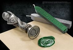 Slytherin Wax Seal at noblecollection.com