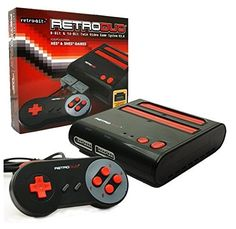 Retro-Bit Retro Duo Twin Video Game System NES and SNES V3.0 - Black/Red Retro-Bit http://www.amazon.com/dp/B0012NZK8G/ref=cm_sw_r_pi_dp_toZrwb0MGE1HX