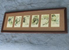 Antique Victorian Oak Frame,6 Rienthal & Newman Best Monments in a Girl's Life #Oak #RienthalNewman