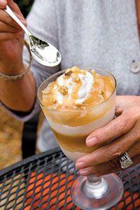 Paula Deen's Caramel Apple White Chocolate Trifle