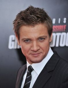Jeremy Renner.  Love his hair.