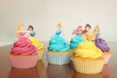 Disney Princess Cupcakes | Keep Calm, Eat a Cupcake